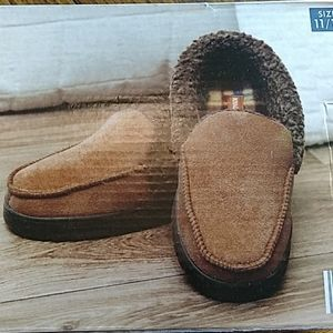 Mens Memory Foam Slippers 11/12